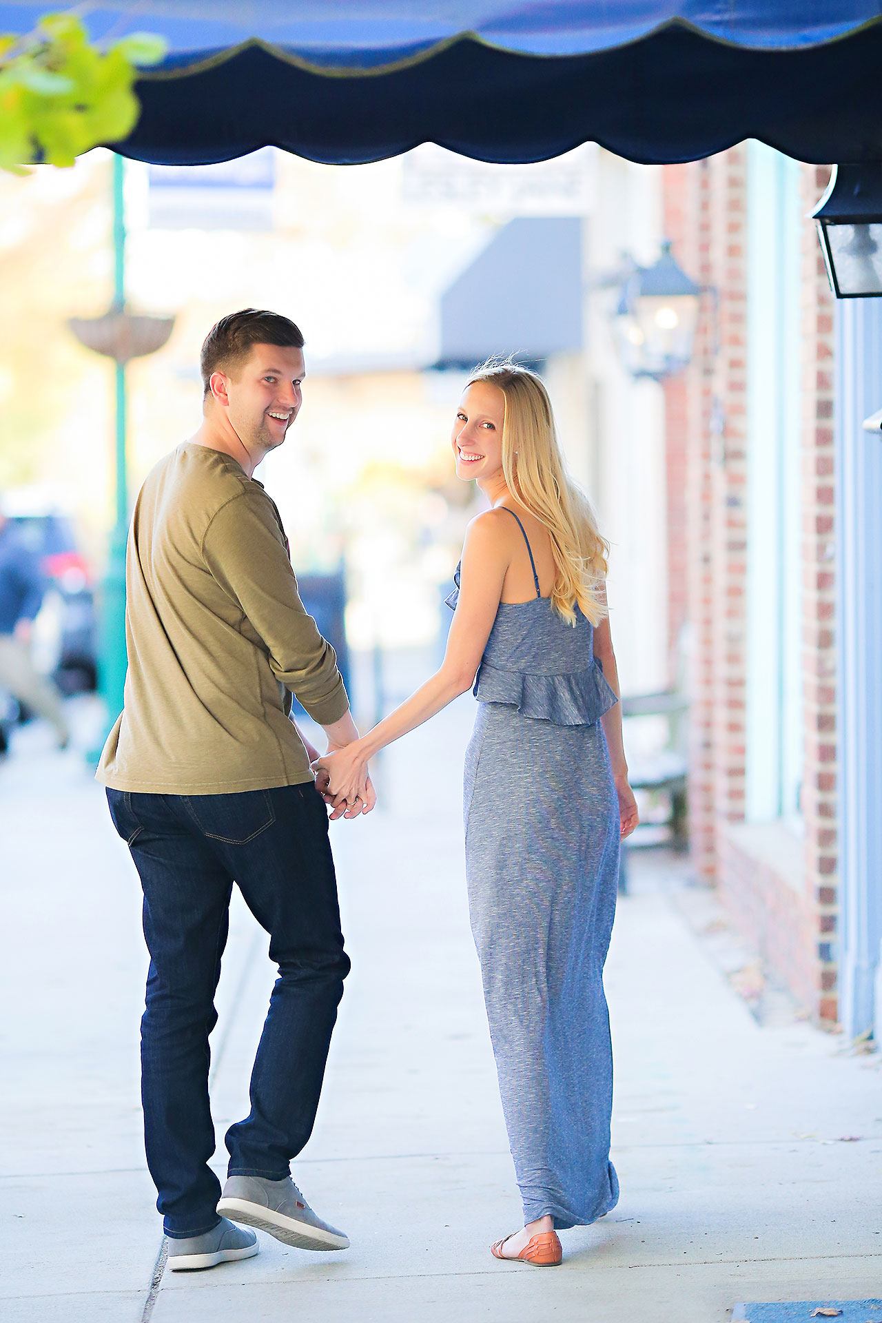 Molly Declan Zionsville Engagement Session 100