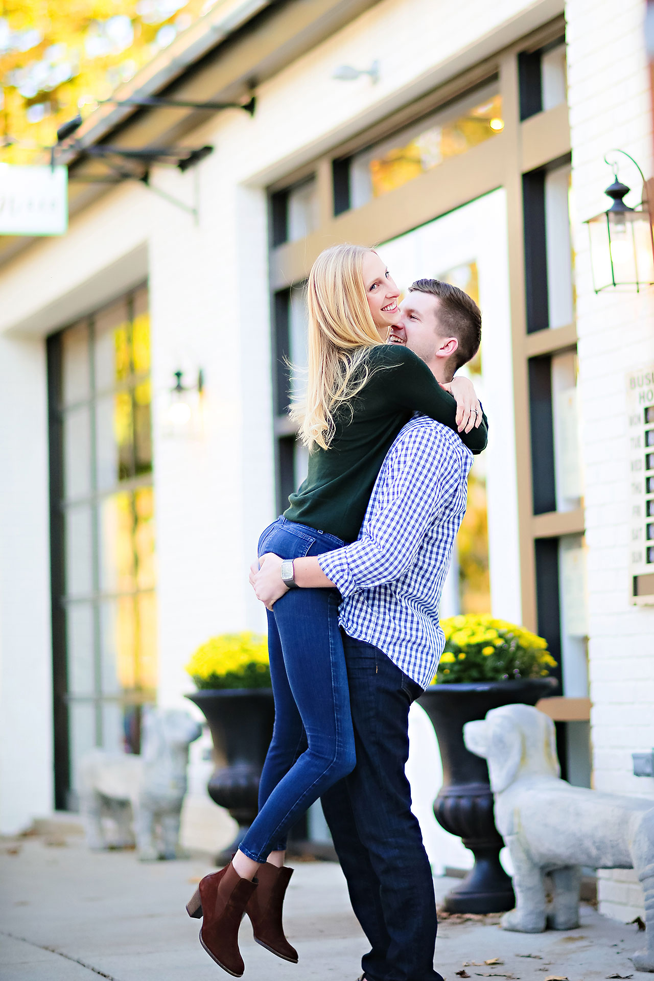 Molly Declan Zionsville Engagement Session 071