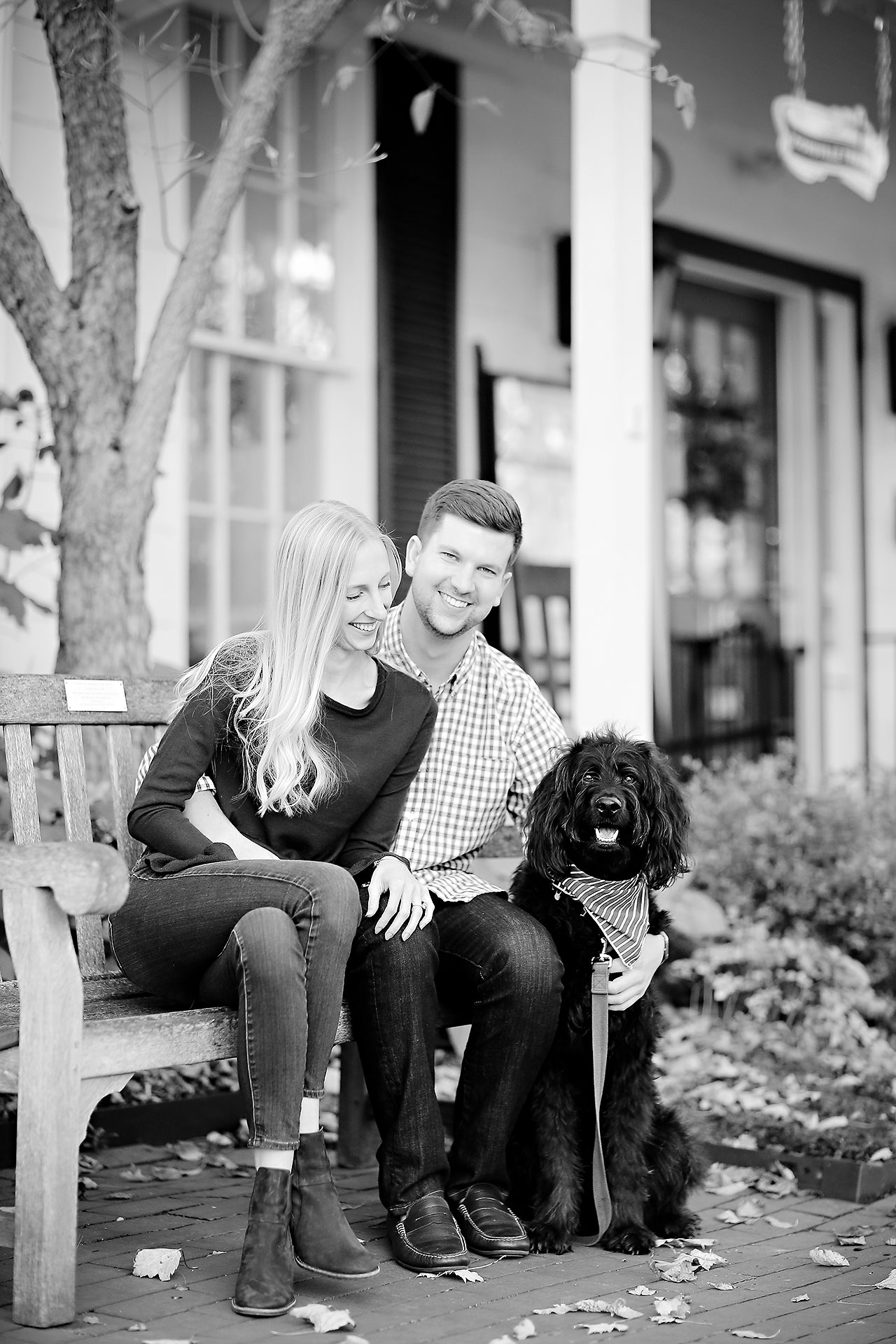 Molly Declan Zionsville Engagement Session 063
