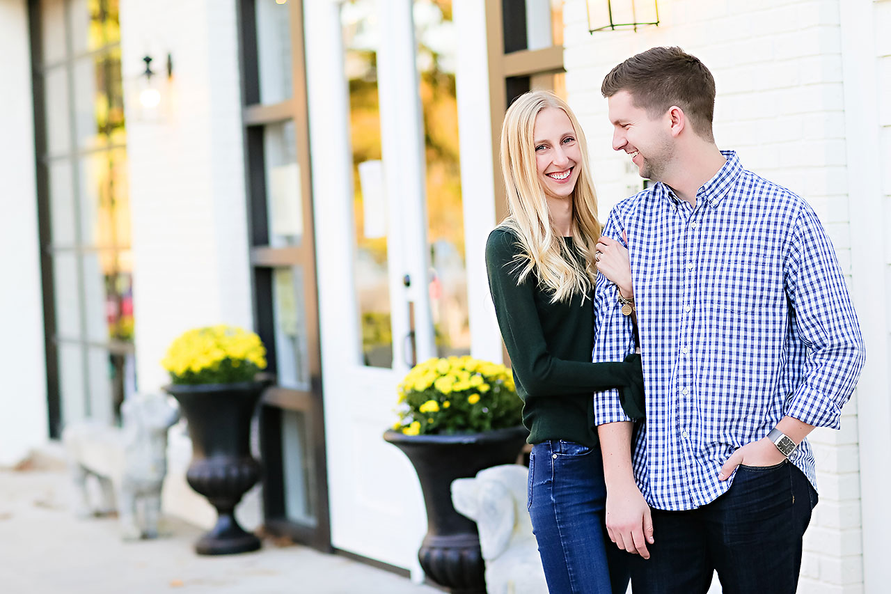 Molly Declan Zionsville Engagement Session 050
