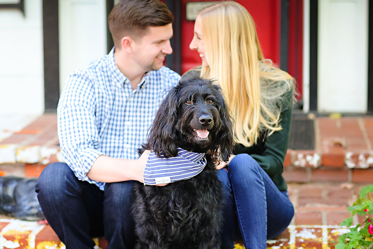 Molly Declan Zionsville Engagement Session 038