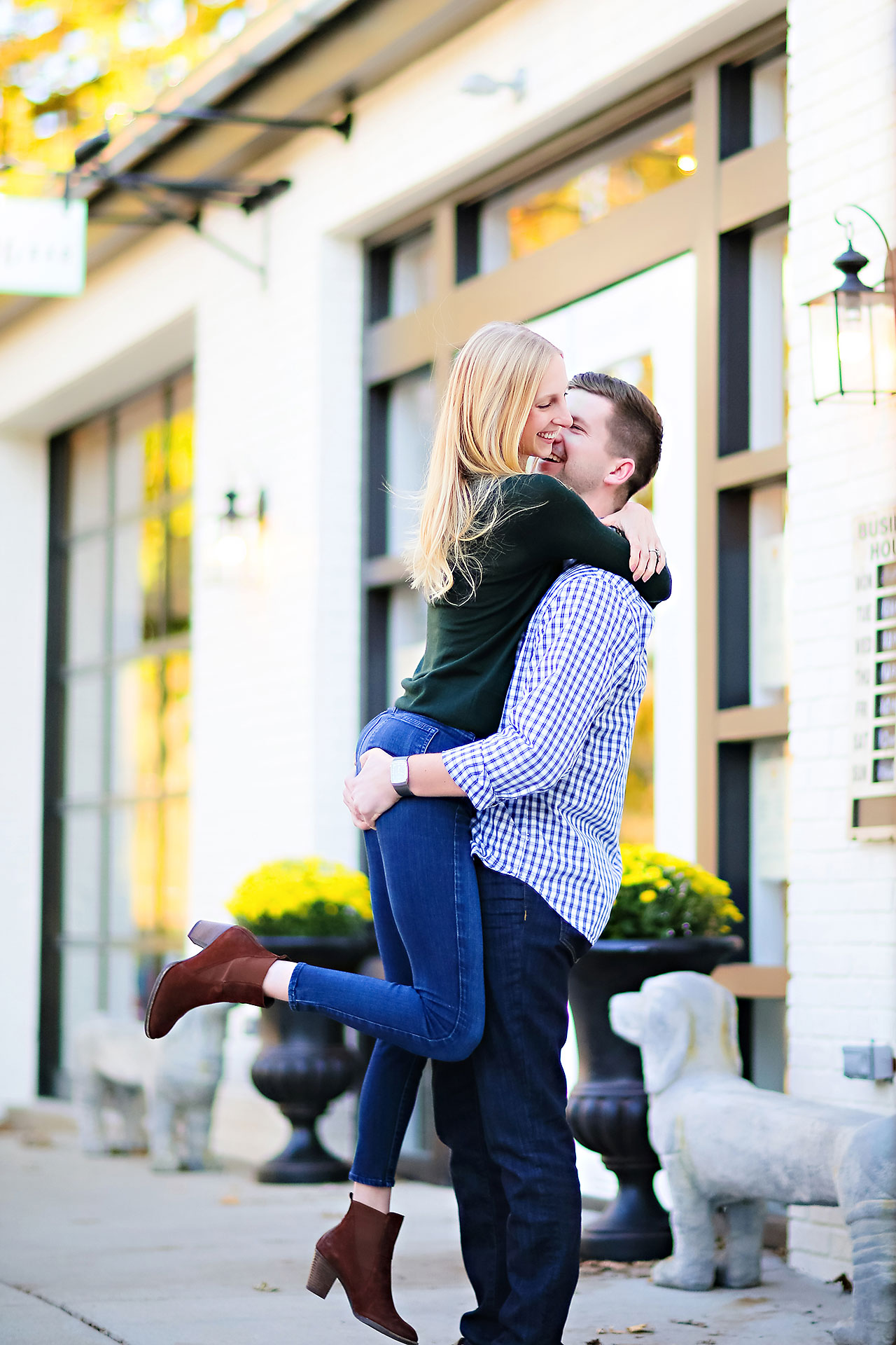 Molly Declan Zionsville Engagement Session 001