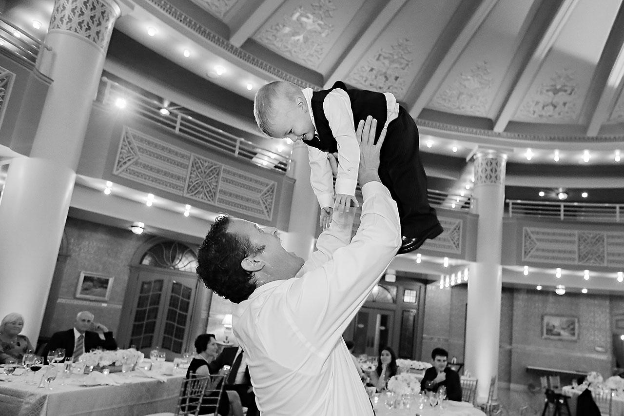 Chelsea Jeff West Baden Wedding 366