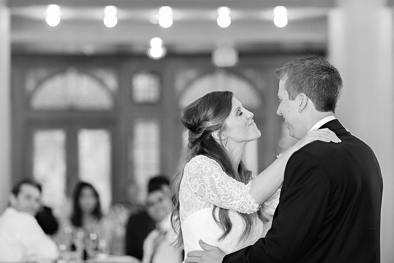 Chelsea Jeff West Baden Wedding 318