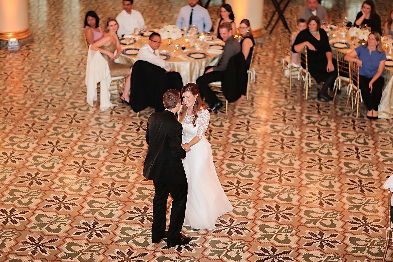 Chelsea Jeff West Baden Wedding 317