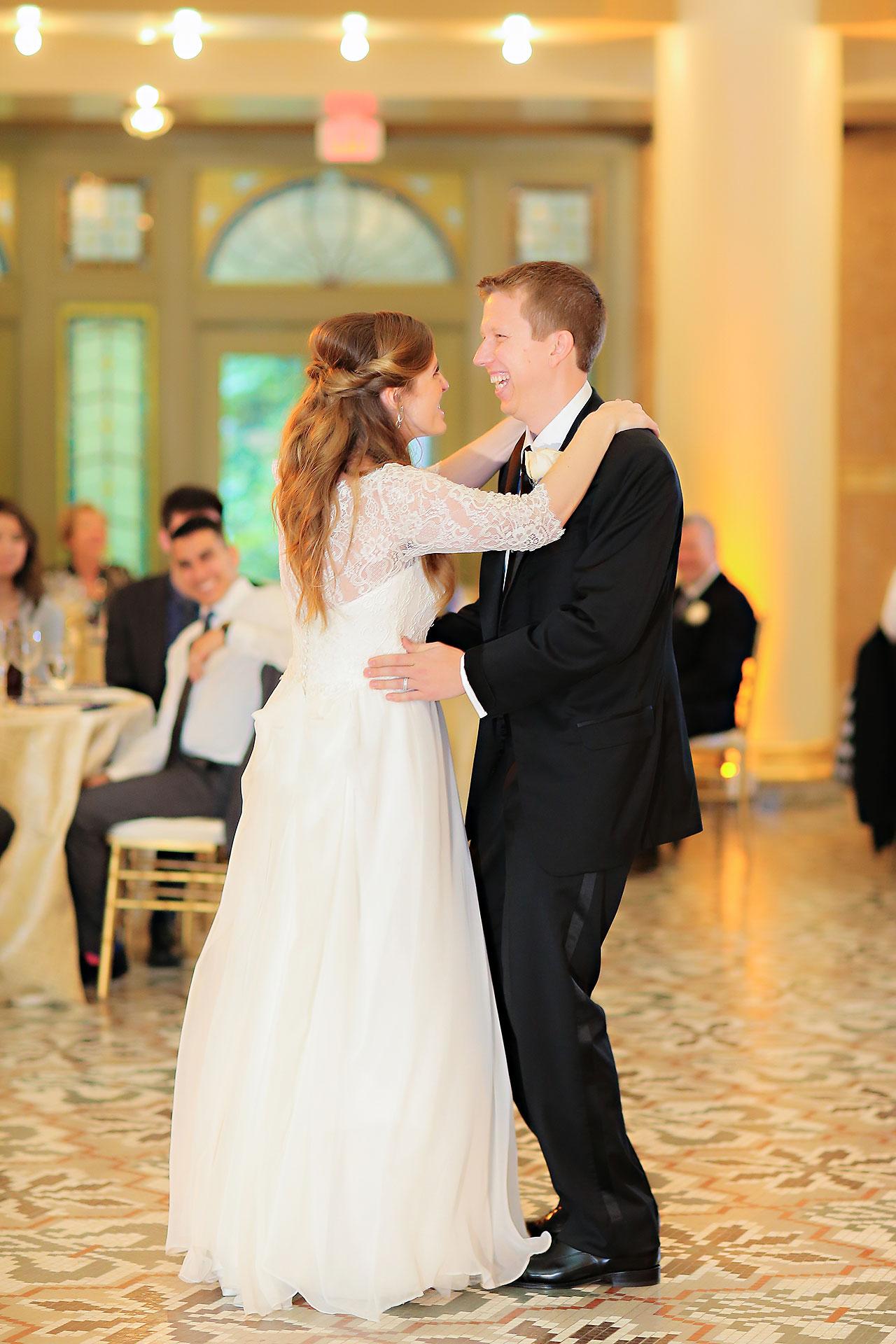 Chelsea Jeff West Baden Wedding 314