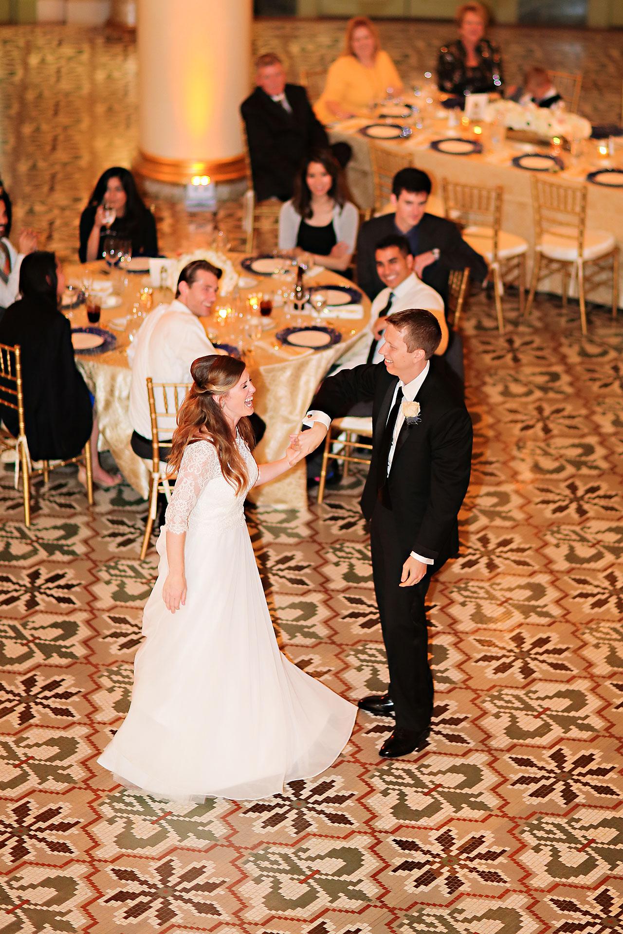 Chelsea Jeff West Baden Wedding 312