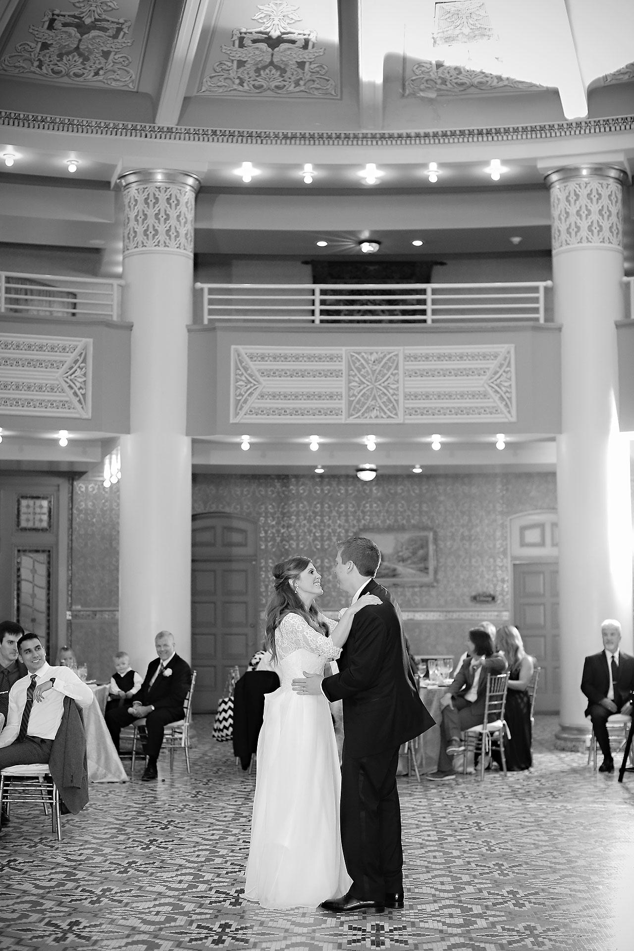 Chelsea Jeff West Baden Wedding 313