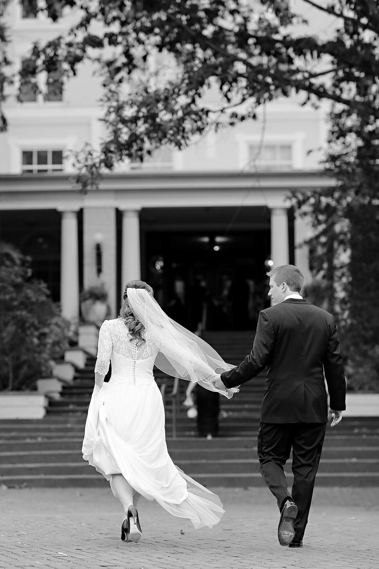 Chelsea Jeff West Baden Wedding 214
