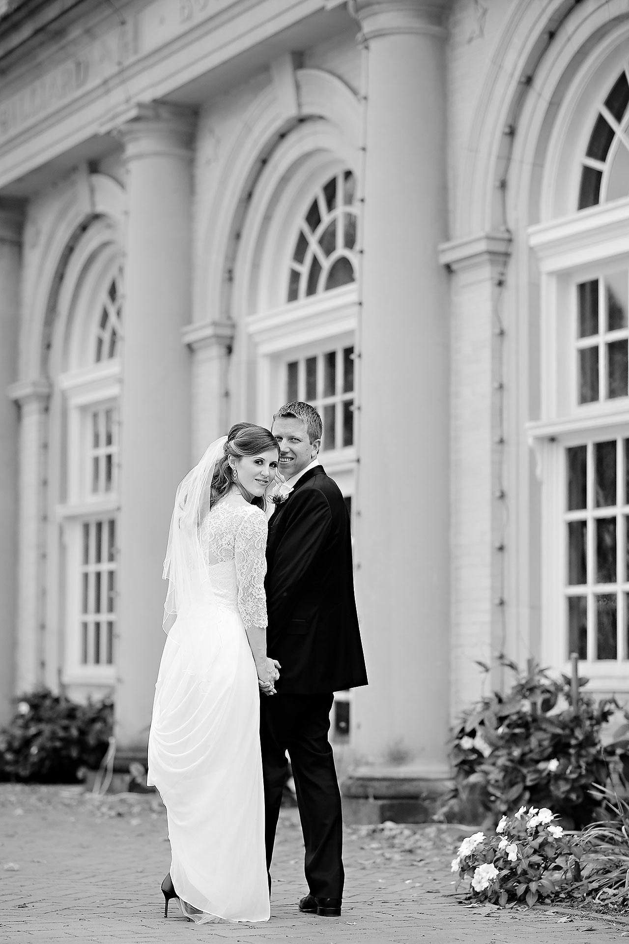 Chelsea Jeff West Baden Wedding 164