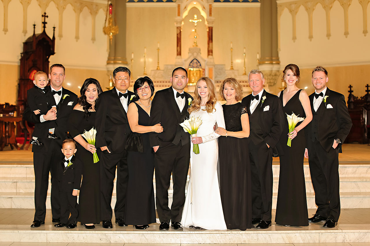 Mallory Wayne Columbia Club Indianapolis Wedding 209