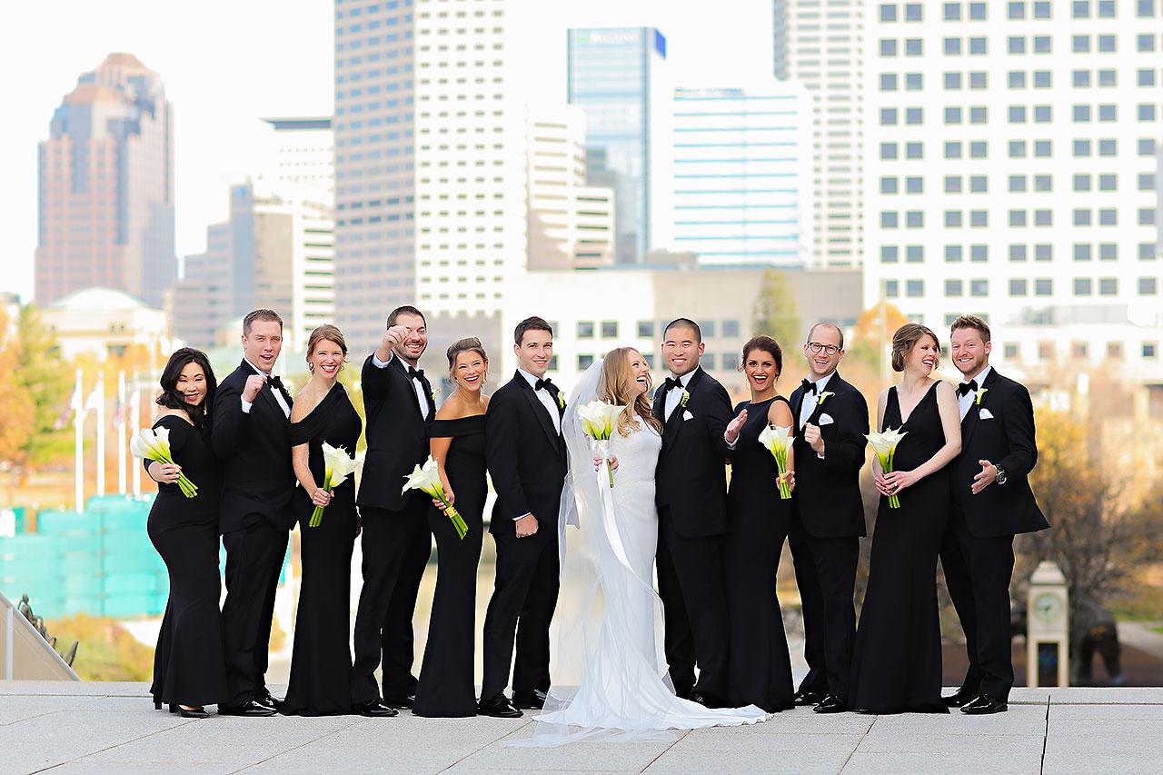 Mallory Wayne Columbia Club Indianapolis Wedding 169