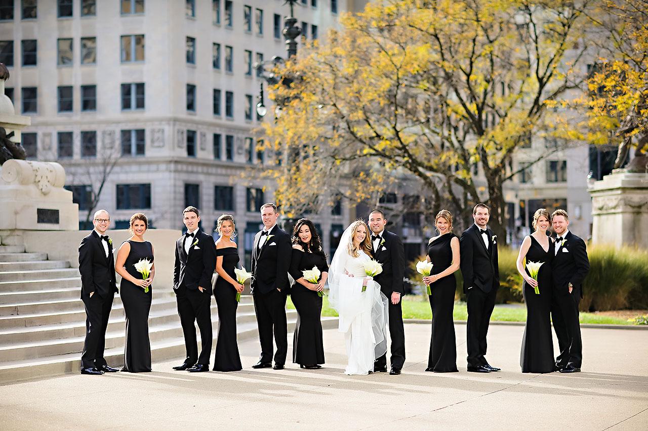 Mallory Wayne Columbia Club Indianapolis Wedding 135