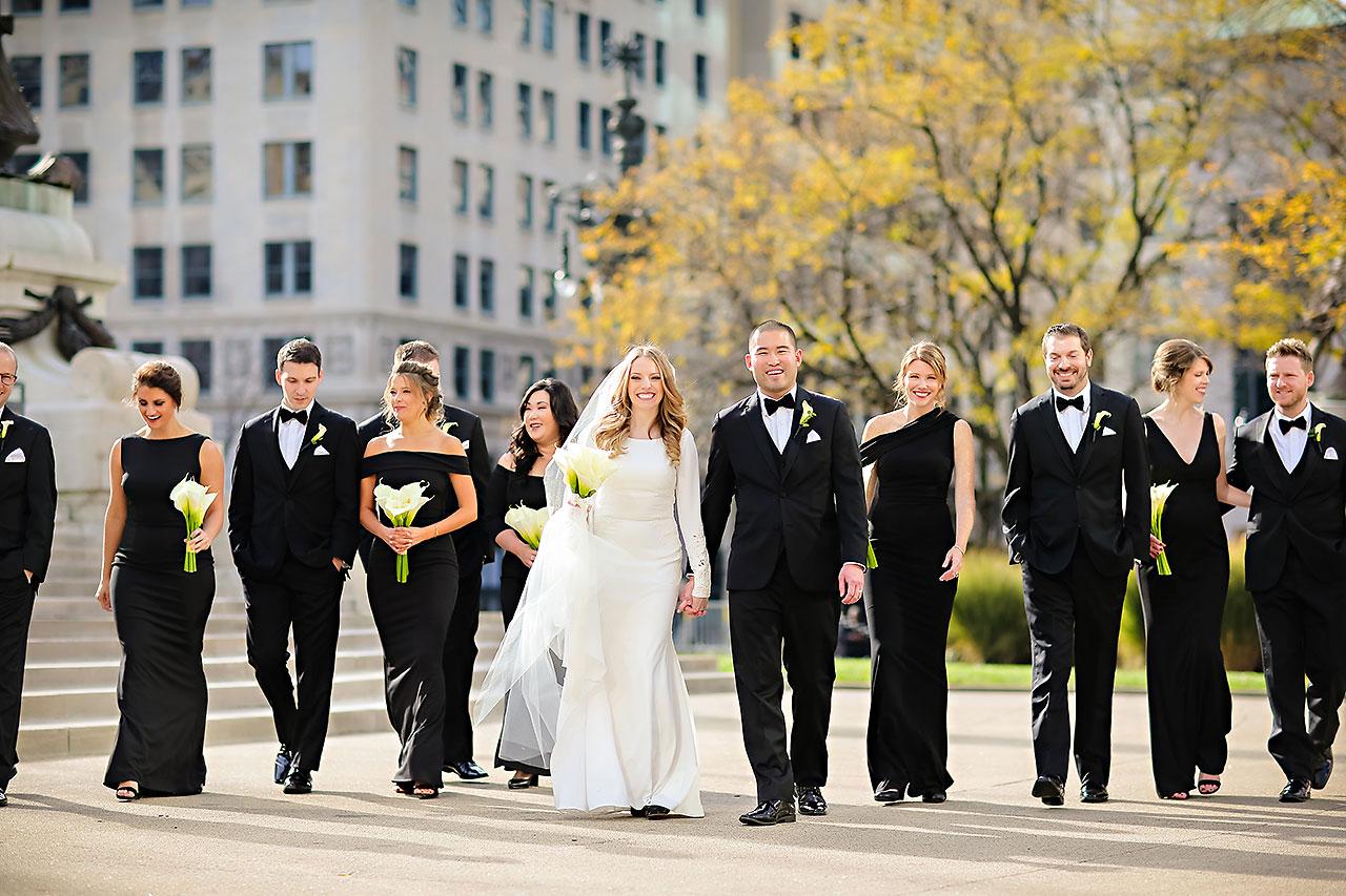 Mallory Wayne Columbia Club Indianapolis Wedding 137