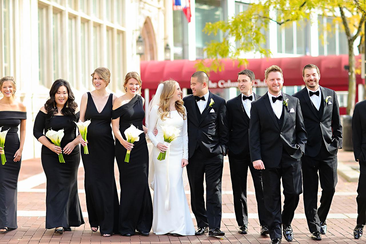 Mallory Wayne Columbia Club Indianapolis Wedding 116
