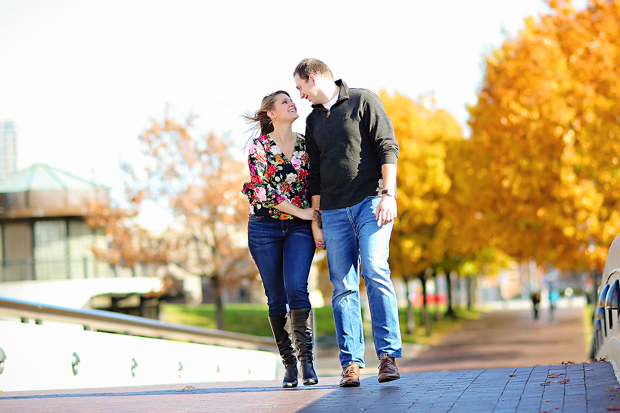 Katelyn Matt Indianapolis Fall Engagement Session 121