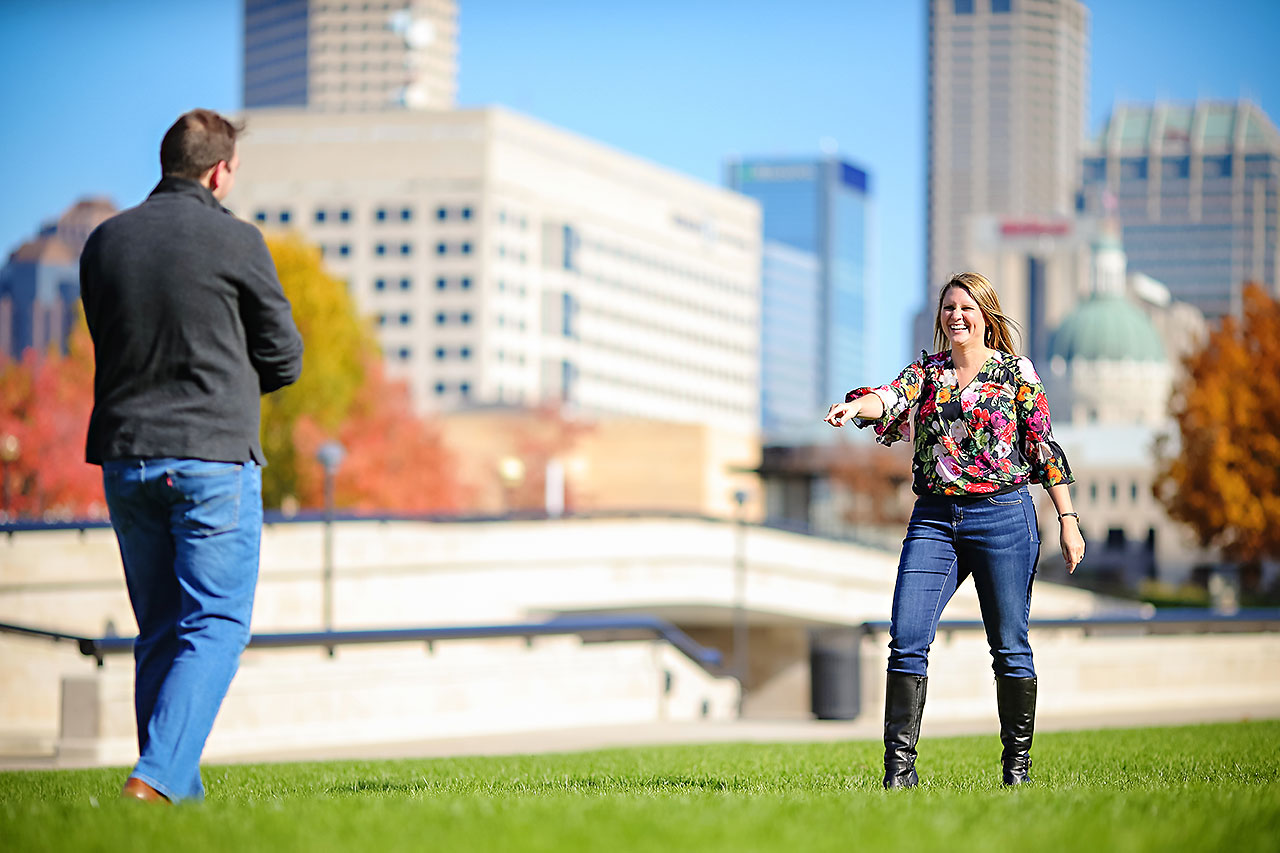 Katelyn Matt Indianapolis Fall Engagement Session 123