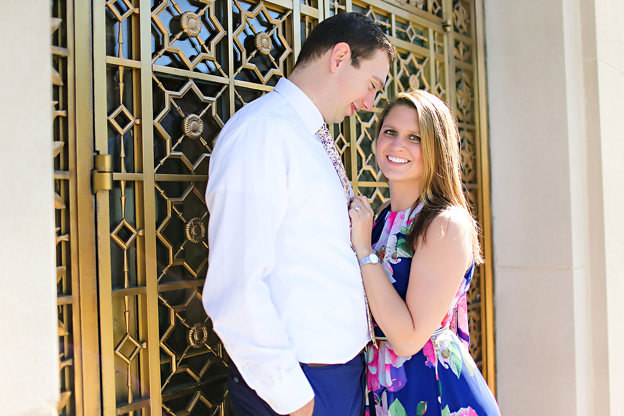Katelyn Matt Indianapolis Fall Engagement Session 107