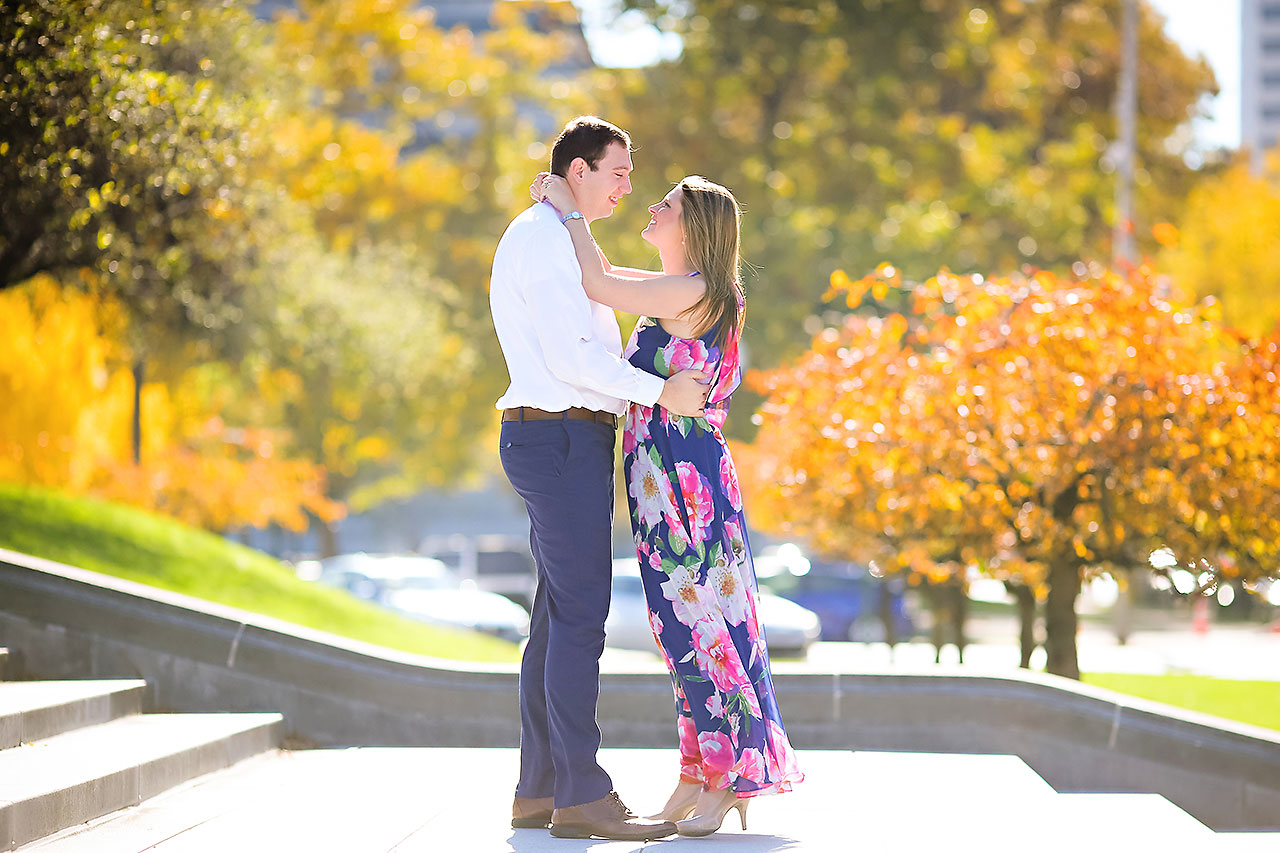 Katelyn Matt Indianapolis Fall Engagement Session 038