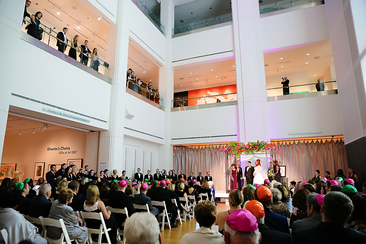Mollie Josh Indianapolis Museum of Art Wedding 242