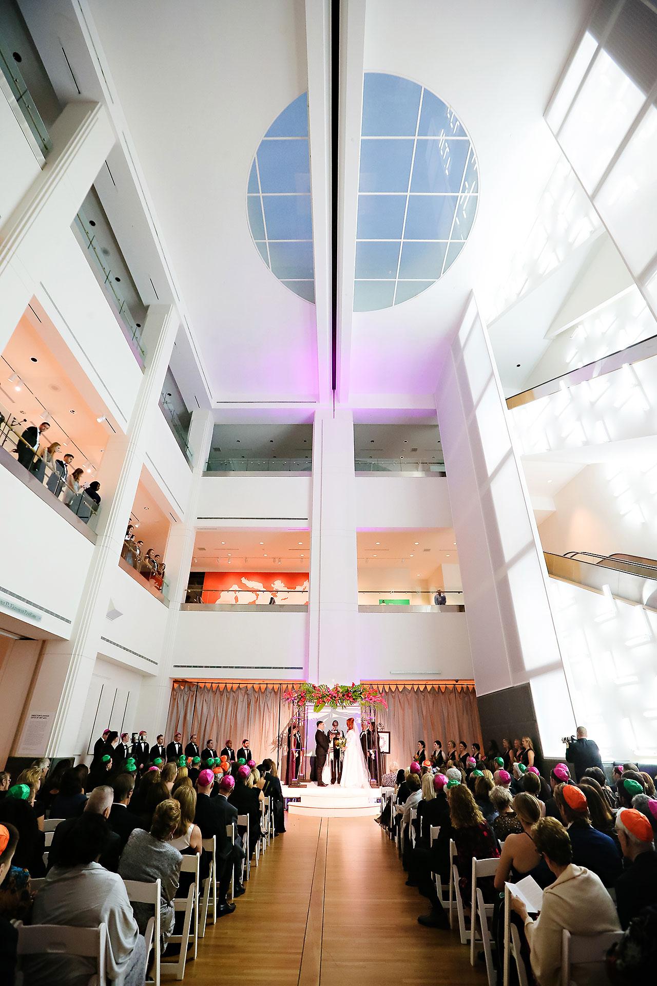 Mollie Josh Indianapolis Museum of Art Wedding 238