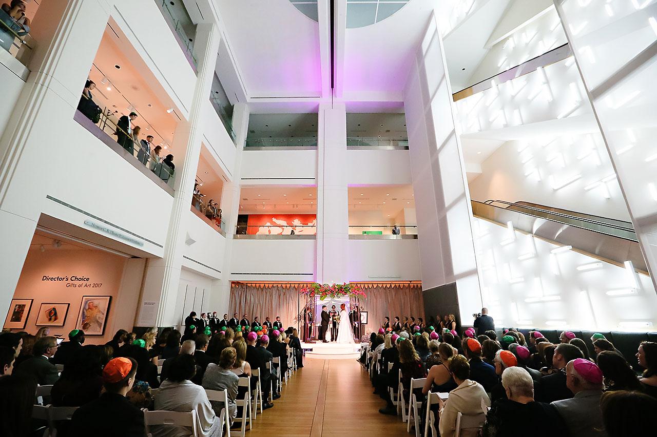 Mollie Josh Indianapolis Museum of Art Wedding 235
