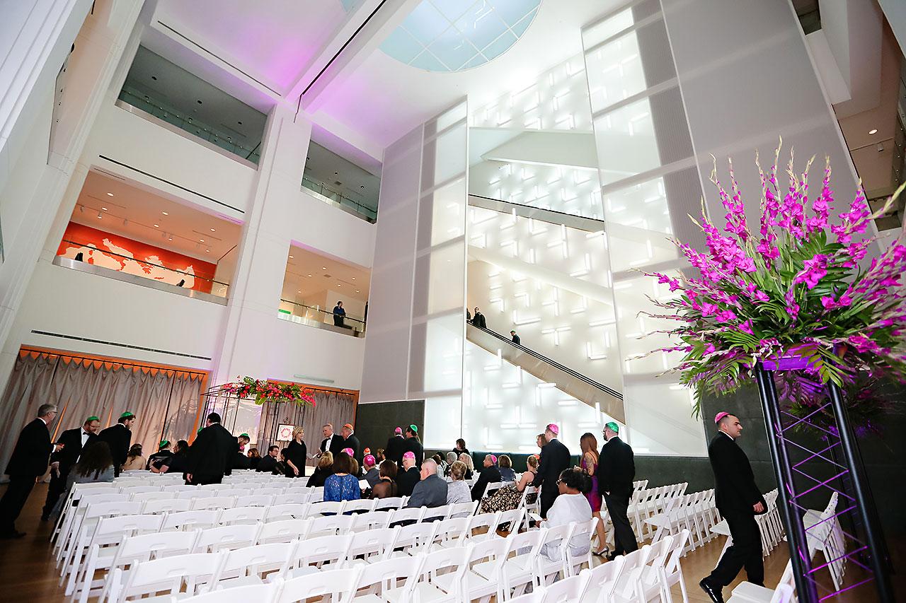 Mollie Josh Indianapolis Museum of Art Wedding 224