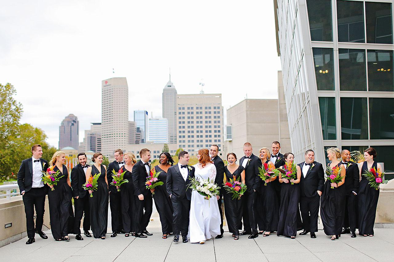 Mollie Josh Indianapolis Museum of Art Wedding 160