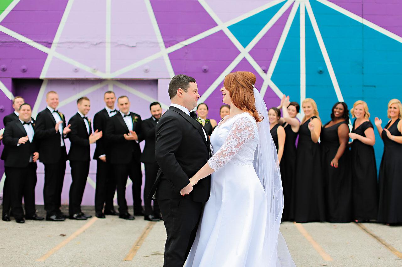 Mollie Josh Indianapolis Museum of Art Wedding 129