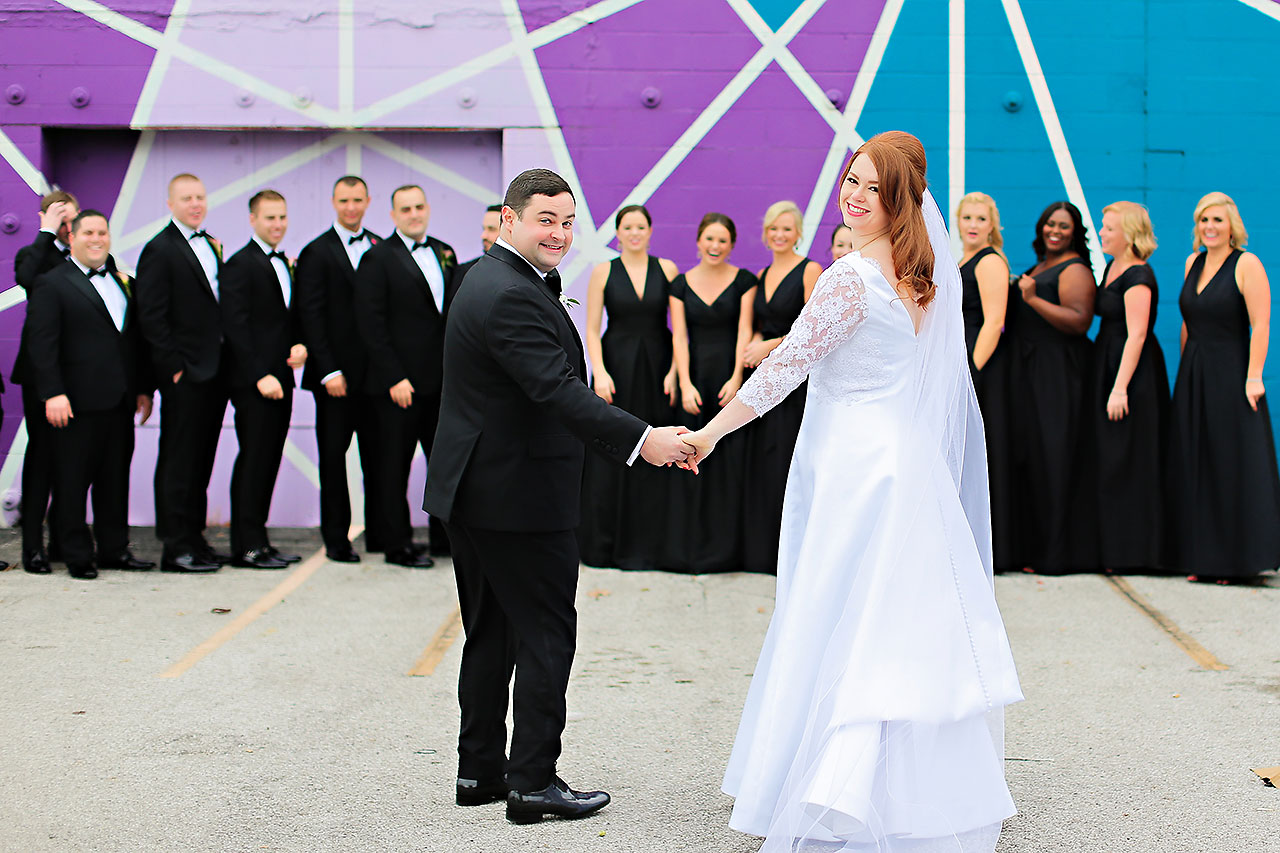 Mollie Josh Indianapolis Museum of Art Wedding 110