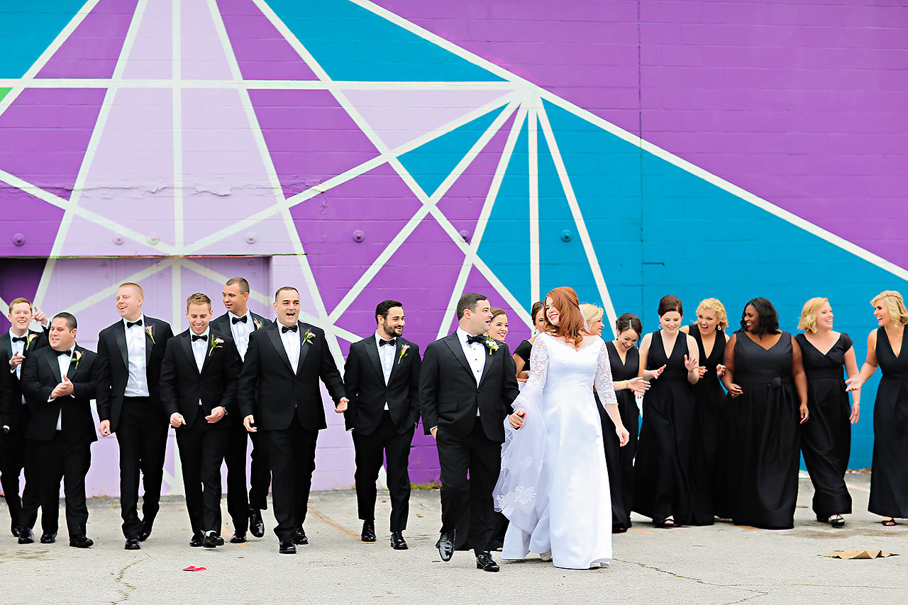 Mollie Josh Indianapolis Museum of Art Wedding 108