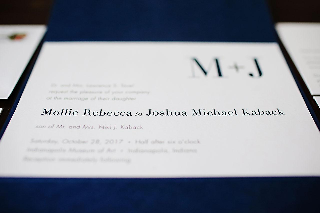 Mollie Josh Indianapolis Museum of Art Wedding 012