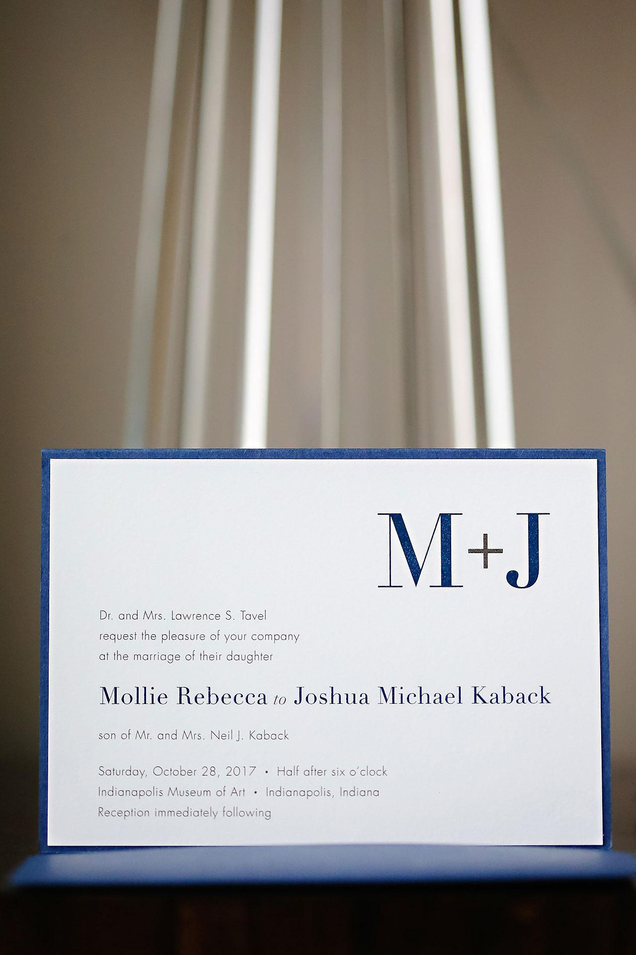 Mollie Josh Indianapolis Museum of Art Wedding 005