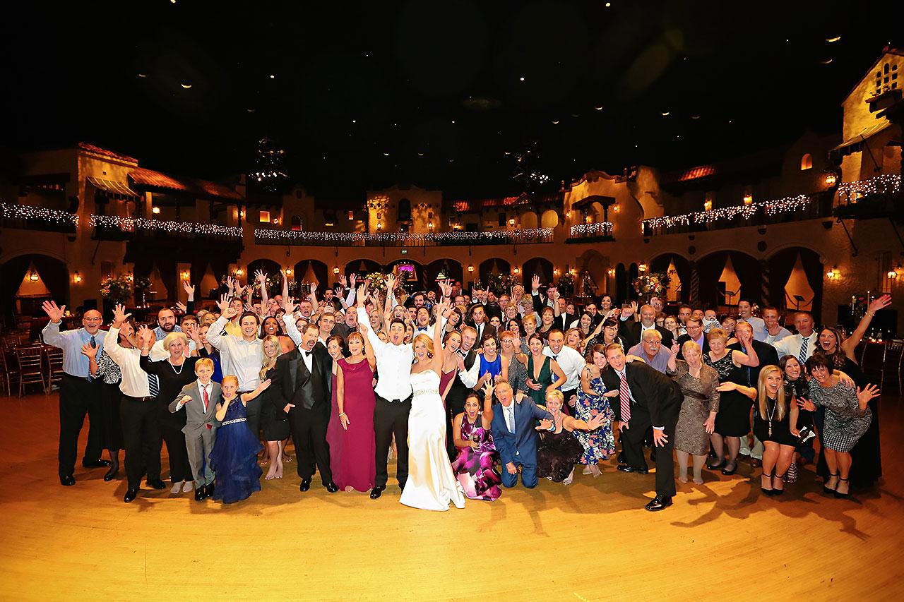 Kayci Matt Indiana Roof Ballroom Indianapolis Wedding 391