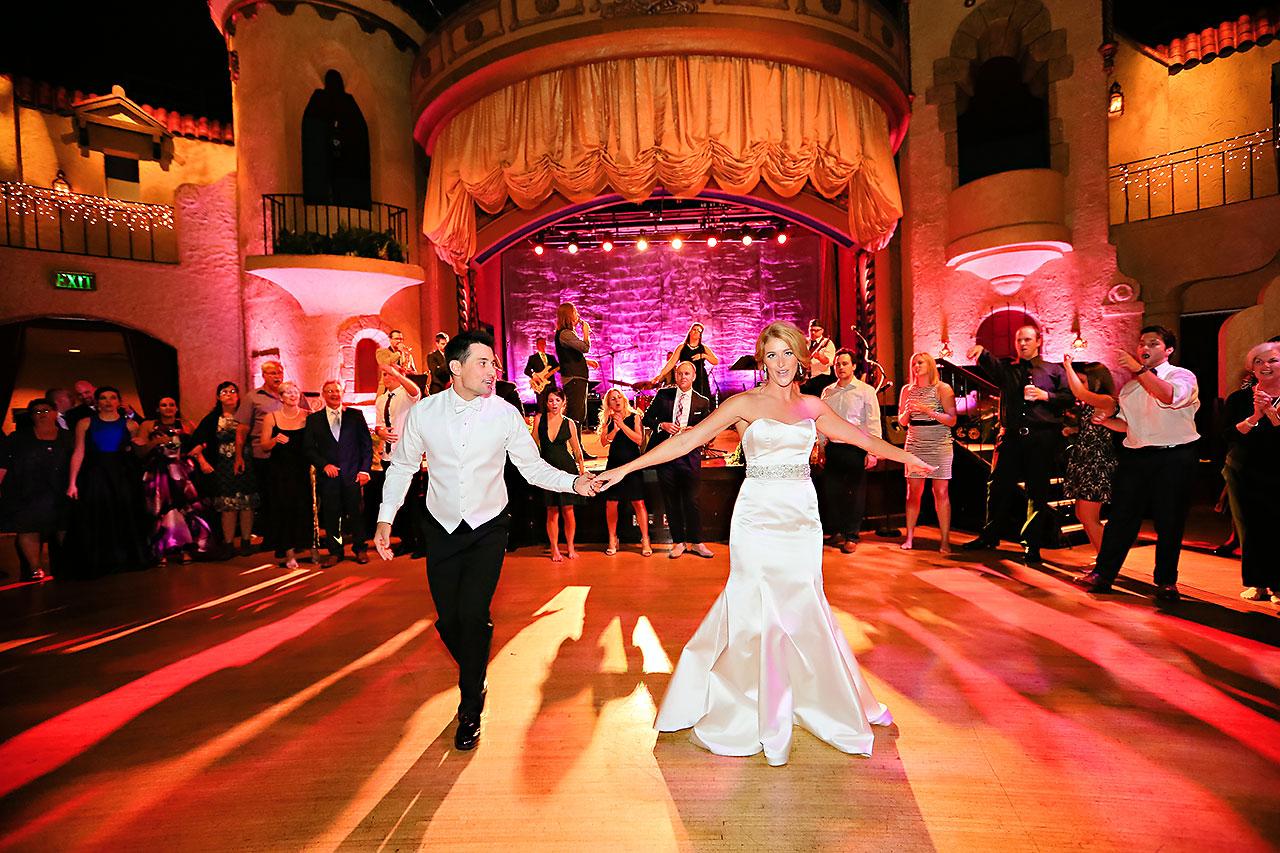 Kayci Matt Indiana Roof Ballroom Indianapolis Wedding 388