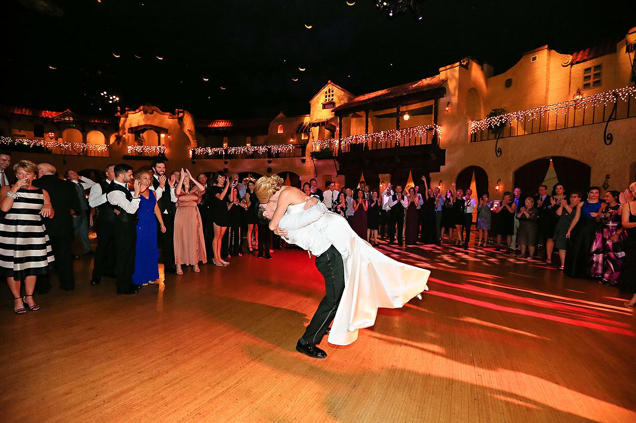 Kayci Matt Indiana Roof Ballroom Indianapolis Wedding 389