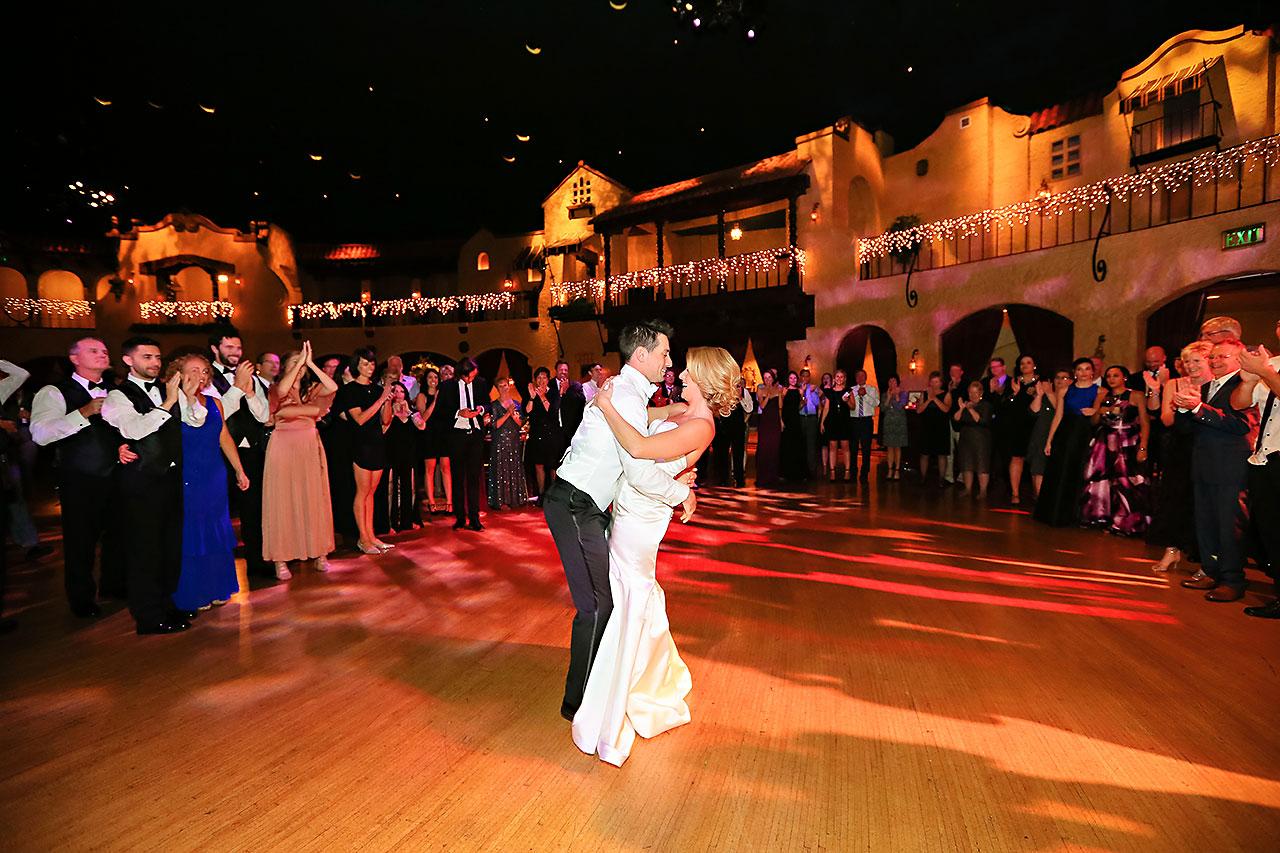 Kayci Matt Indiana Roof Ballroom Indianapolis Wedding 390