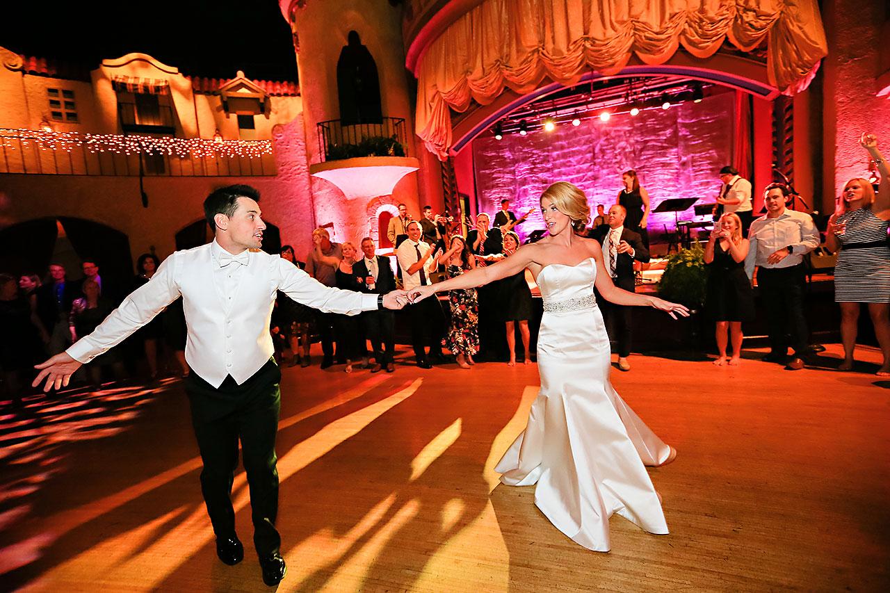 Kayci Matt Indiana Roof Ballroom Indianapolis Wedding 386