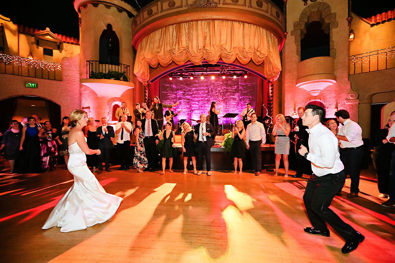 Kayci Matt Indiana Roof Ballroom Indianapolis Wedding 387