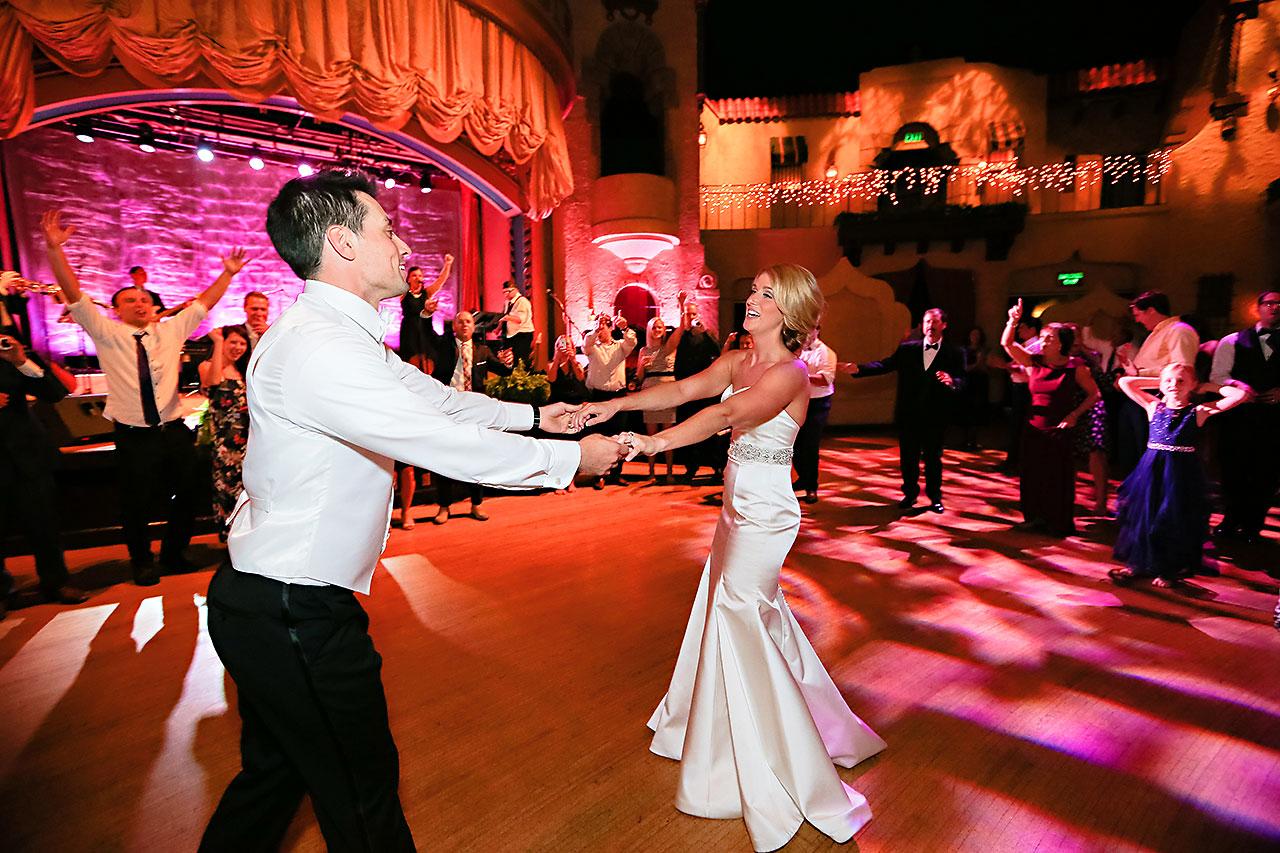 Kayci Matt Indiana Roof Ballroom Indianapolis Wedding 385