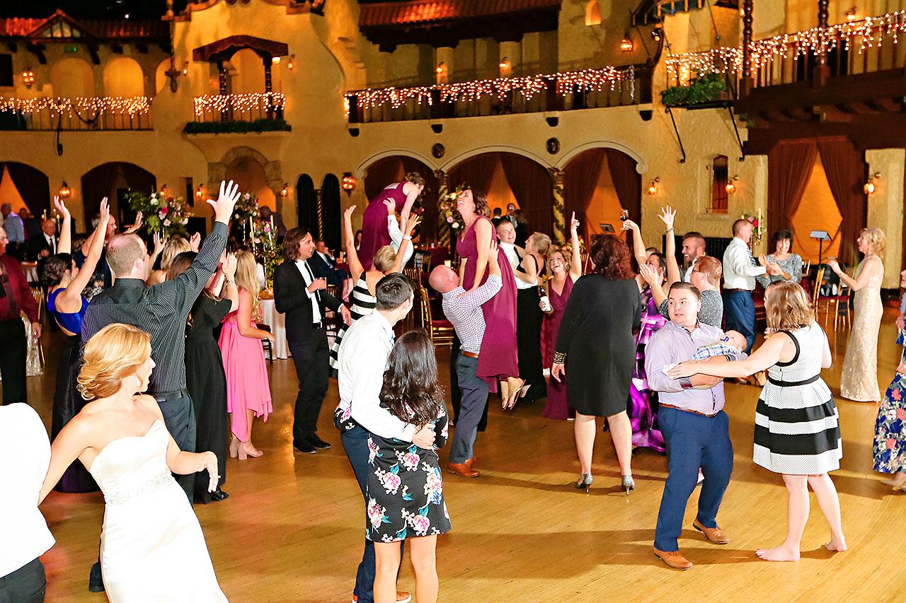 Kayci Matt Indiana Roof Ballroom Indianapolis Wedding 383