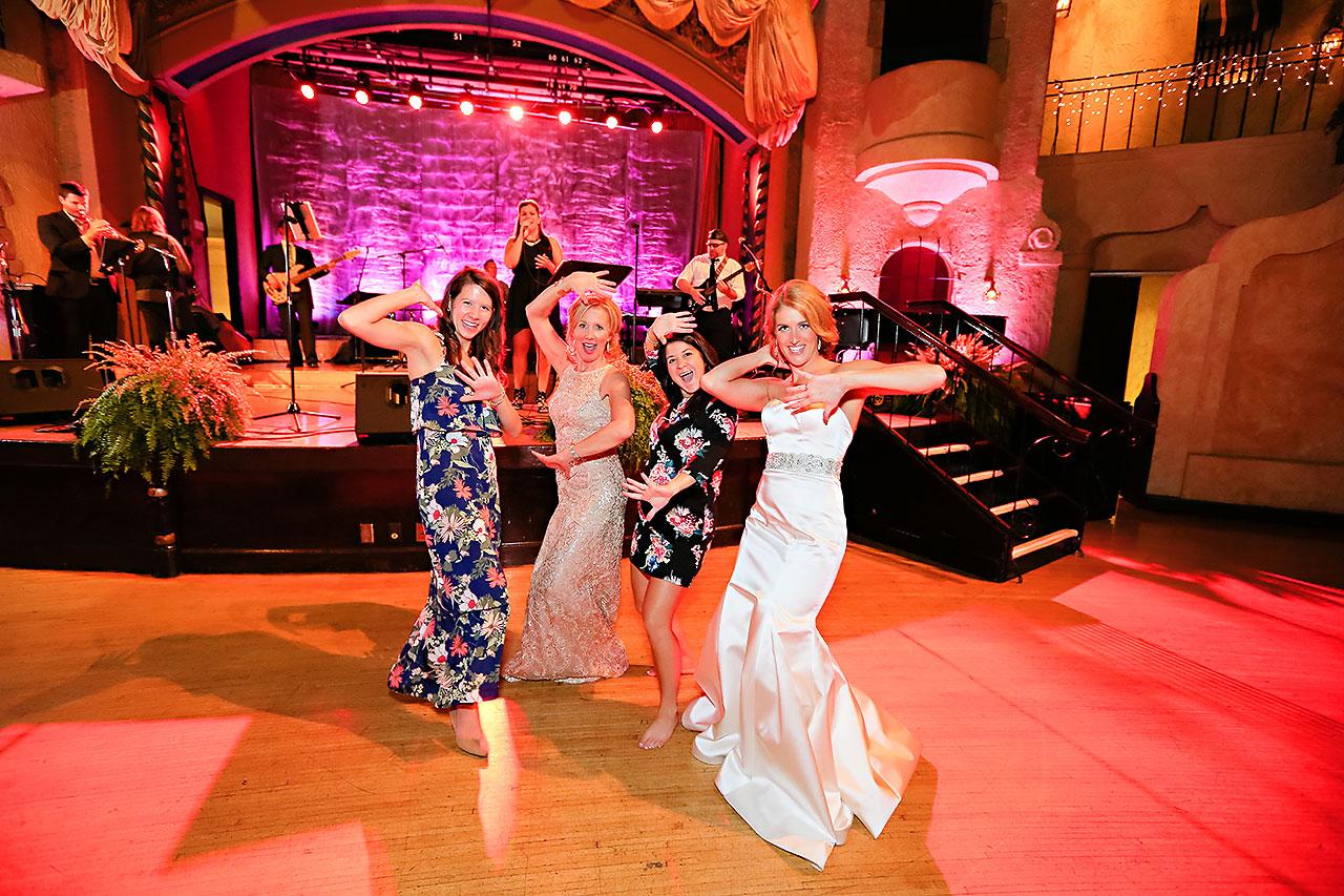 Kayci Matt Indiana Roof Ballroom Indianapolis Wedding 379