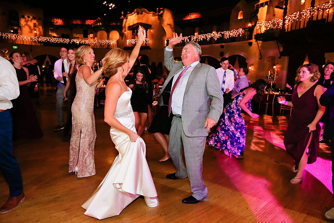 Kayci Matt Indiana Roof Ballroom Indianapolis Wedding 374