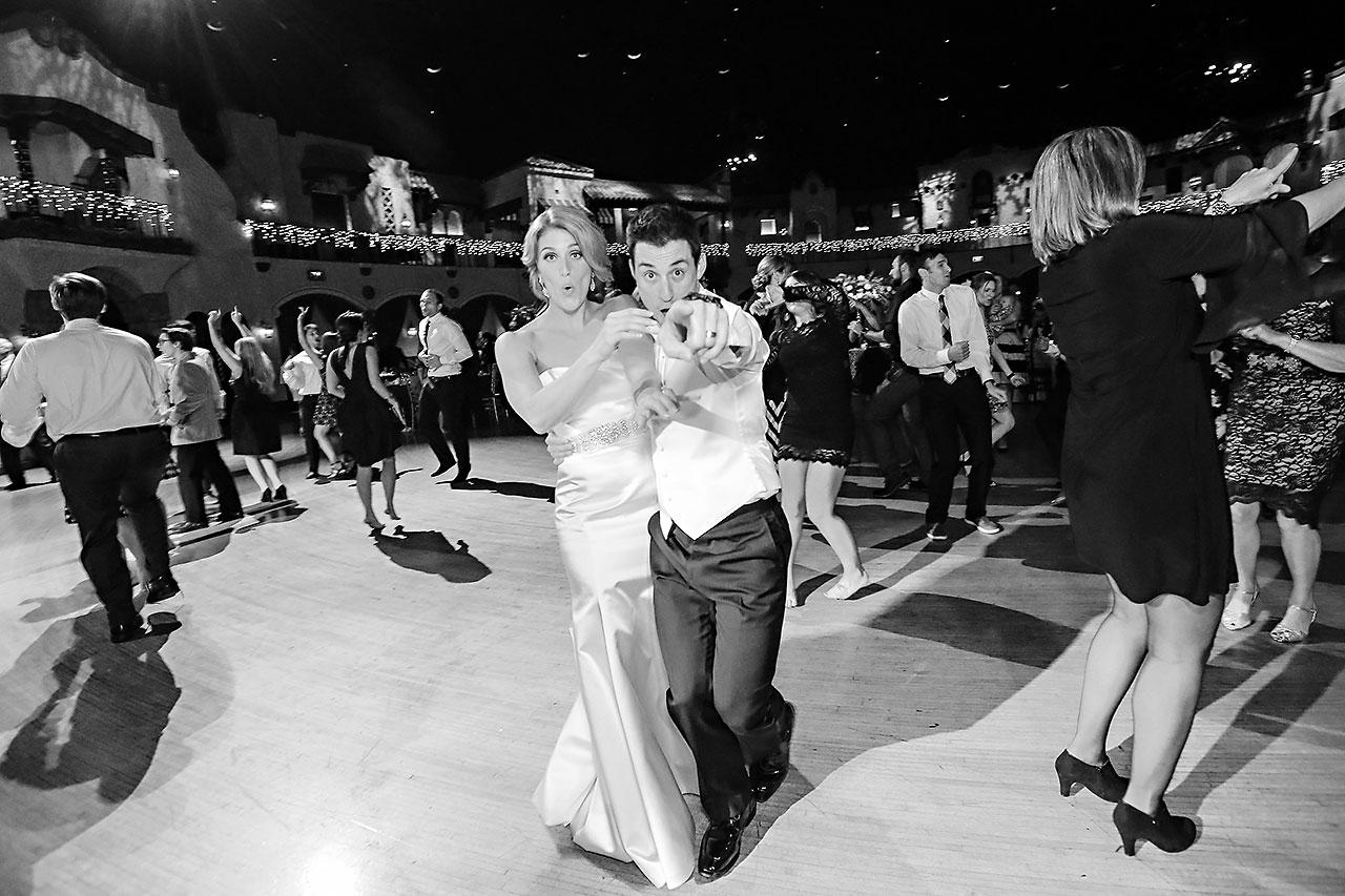 Kayci Matt Indiana Roof Ballroom Indianapolis Wedding 362