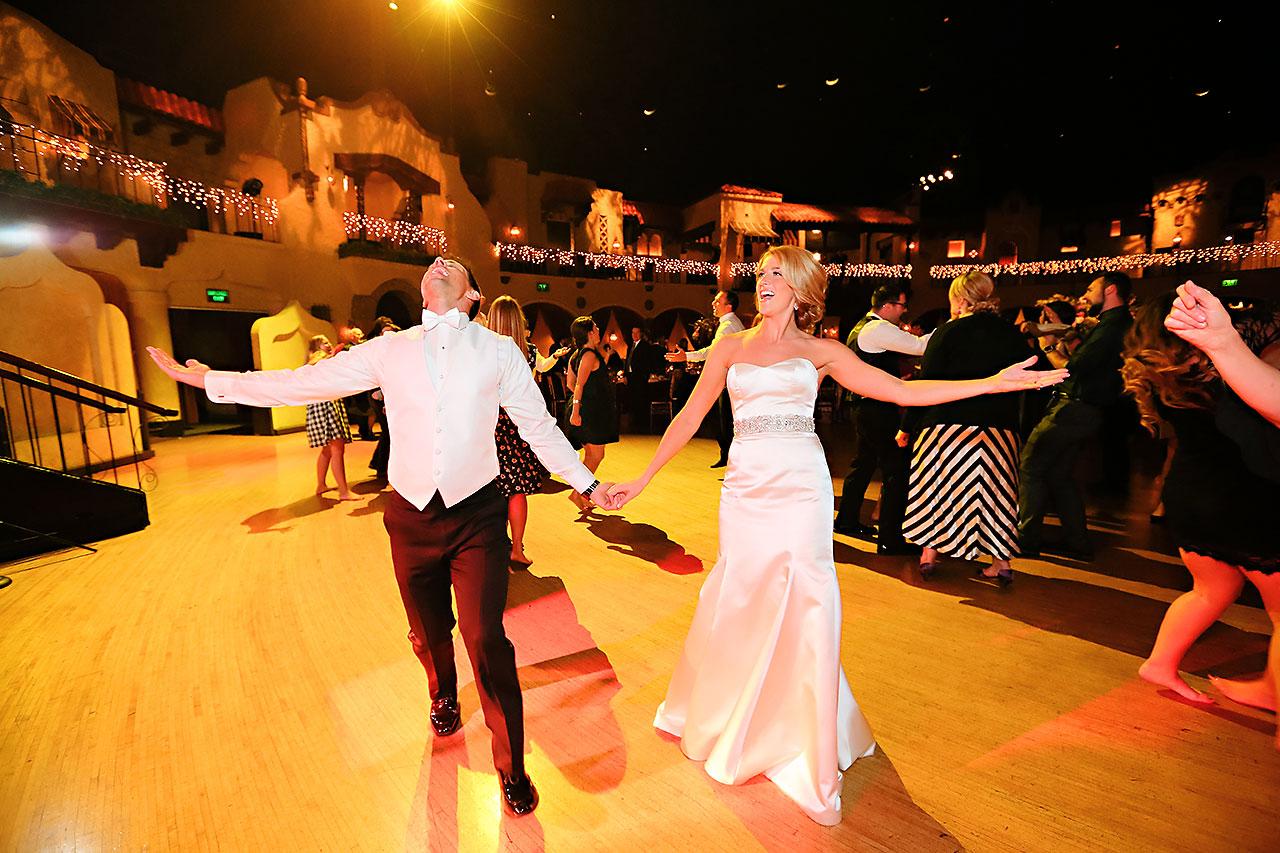 Kayci Matt Indiana Roof Ballroom Indianapolis Wedding 359