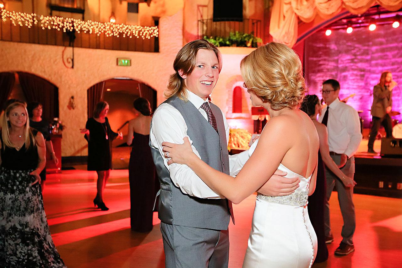 Kayci Matt Indiana Roof Ballroom Indianapolis Wedding 356