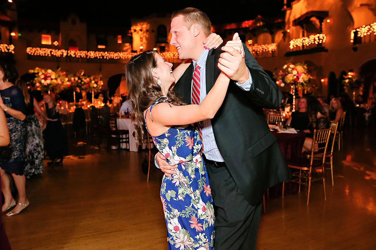 Kayci Matt Indiana Roof Ballroom Indianapolis Wedding 357