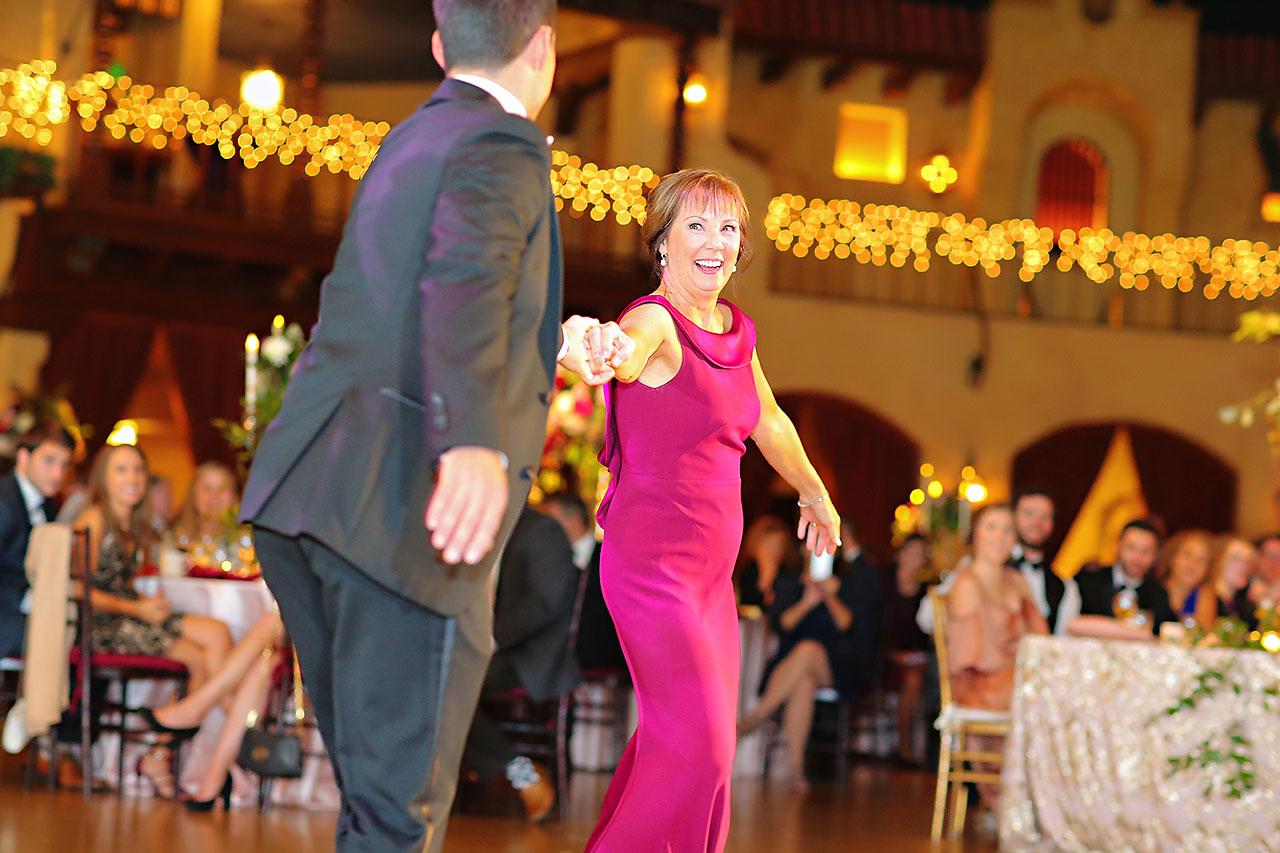 Kayci Matt Indiana Roof Ballroom Indianapolis Wedding 353