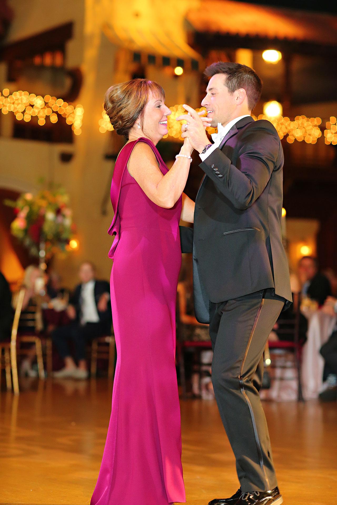 Kayci Matt Indiana Roof Ballroom Indianapolis Wedding 351