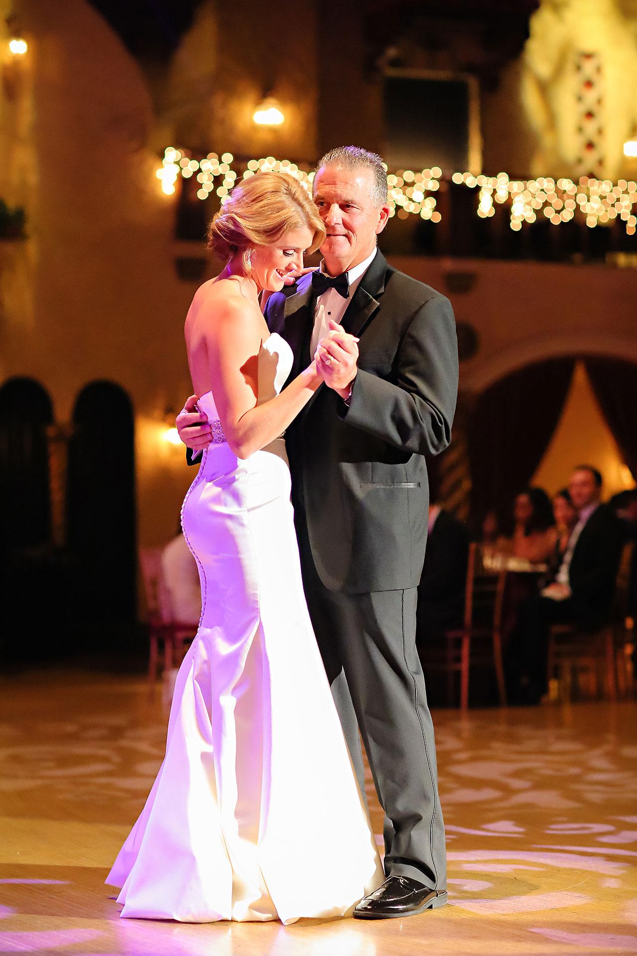 Kayci Matt Indiana Roof Ballroom Indianapolis Wedding 346